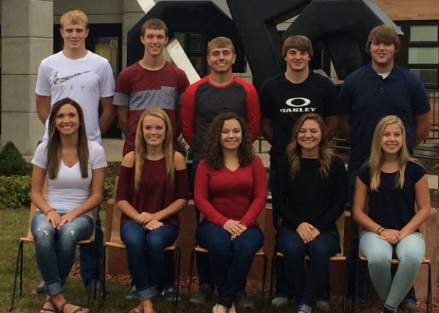 Coldwater HS Homecoming Court