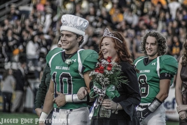 2017 Celina Homecoming King and Queen