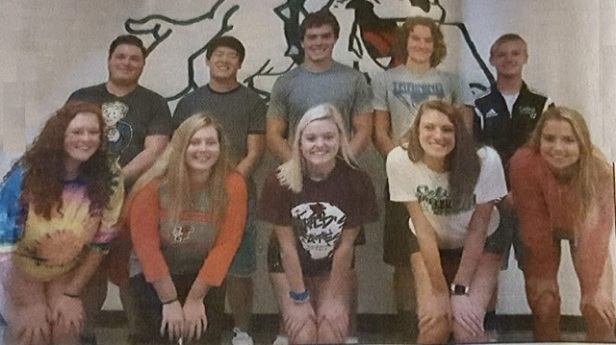Celina Homecoming Court