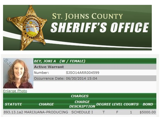 Joni Ann Bey warrant