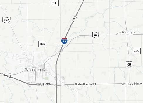 Wapakoneta Woman Killed In Single Vehicle Crash On I-75/SR