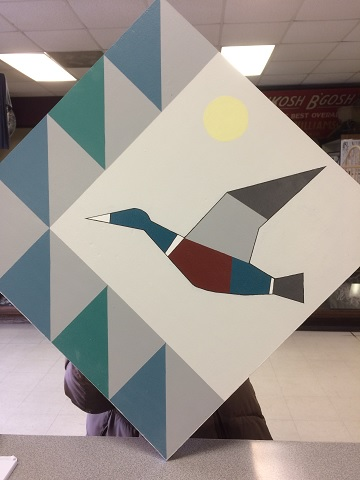 Barn Quilt owned by Barb Pedroza