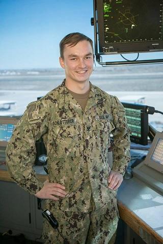 Petty Officer 3rd Class Alex Schlotterer