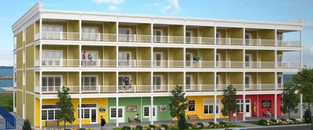 proposed boardwalk resort