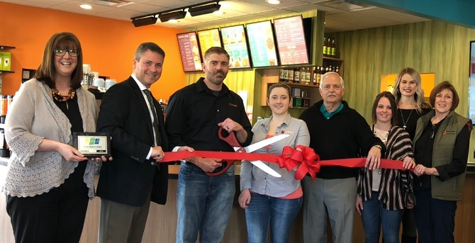 biggby coffee u2026newest chamber member  u2013 mercer county outlook