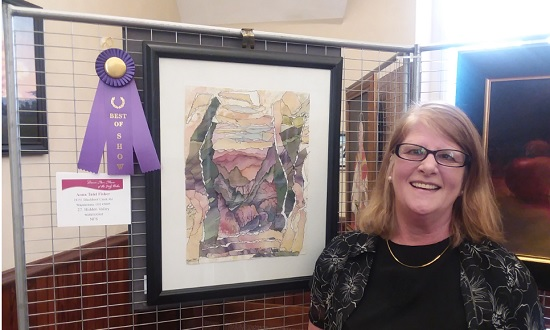 2018 Art Show Winner, Anna Talei Fisher