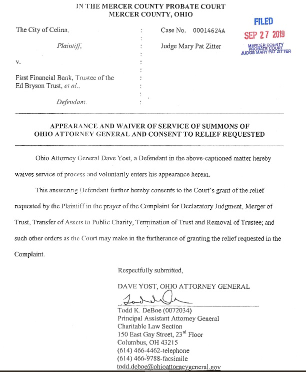 d yost lawsuit