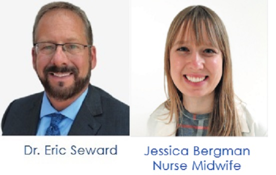 Dr. Eric Seward and Jessica Bergman