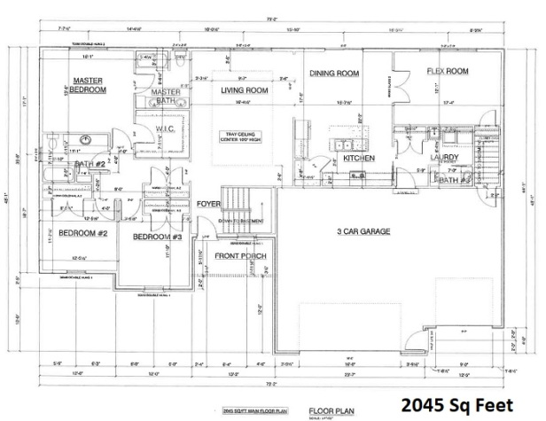 Tri Star House 2020 floor plan