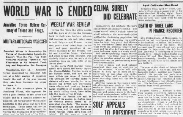 11-15-1918 - war ends