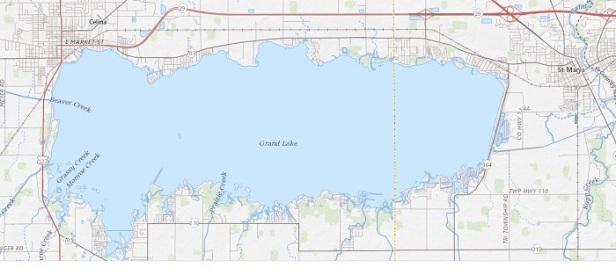 grand lake map