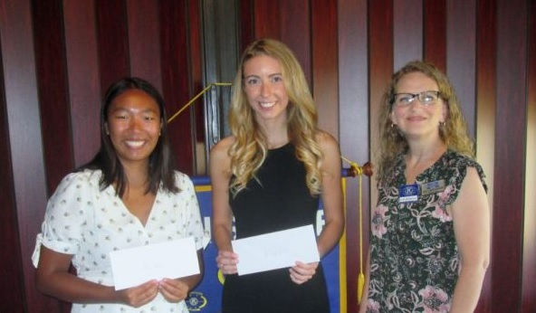 Kiwanis Club Scholarship Winners 2020